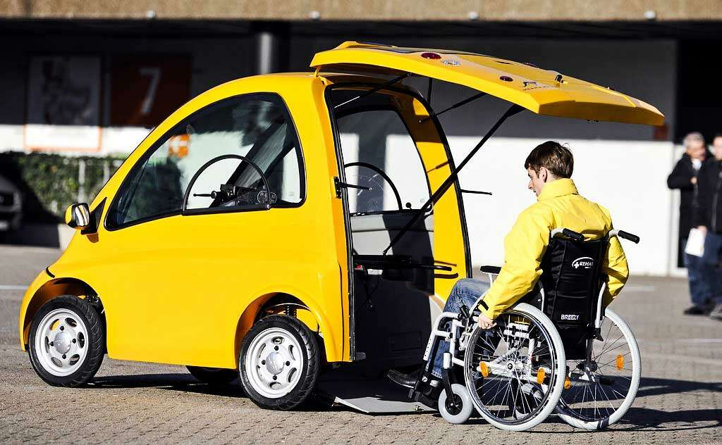 Kenguru Electric Car for disabled persons