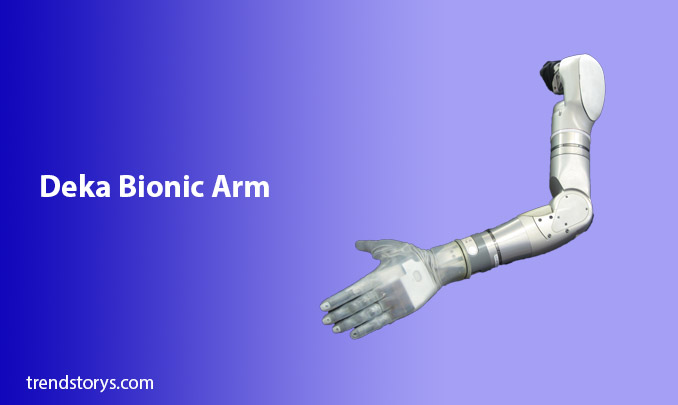 Deka Bionic Arm for disabled persons