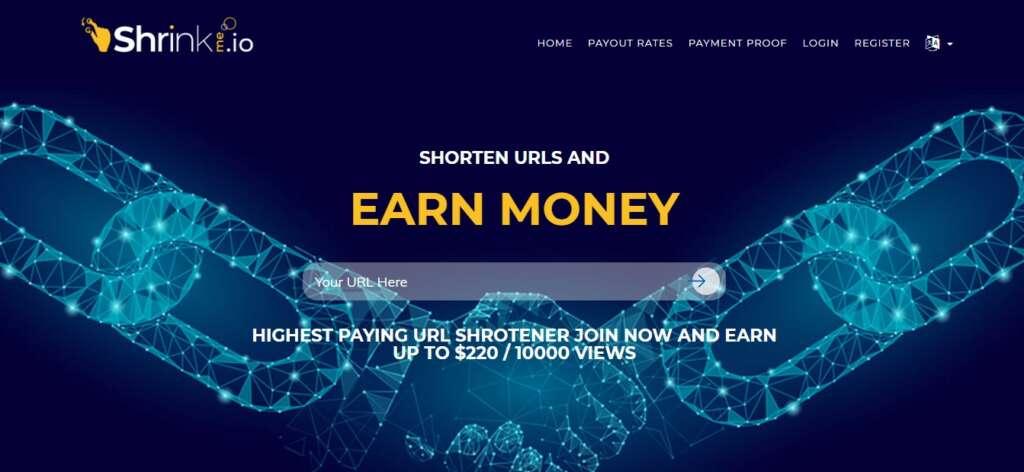Highest paying URL Shortener 2020