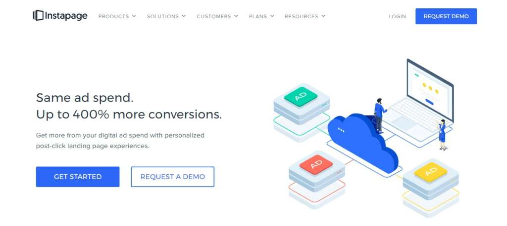 Instapage - Best affiliate ad network