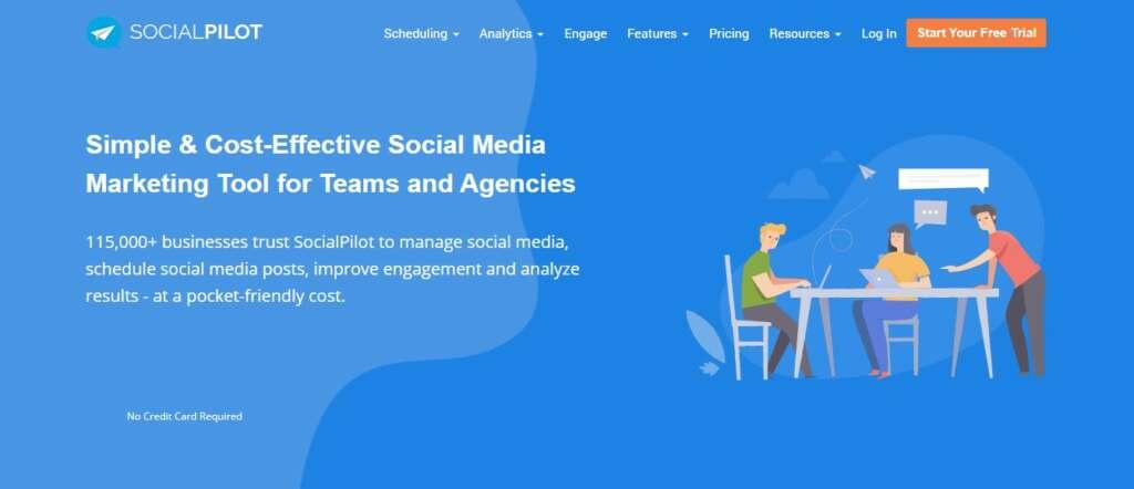 SocialPilot - Lifetime affiliate network