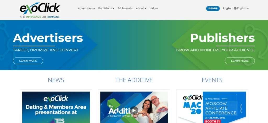 ExoClick - Recurring affiliate program