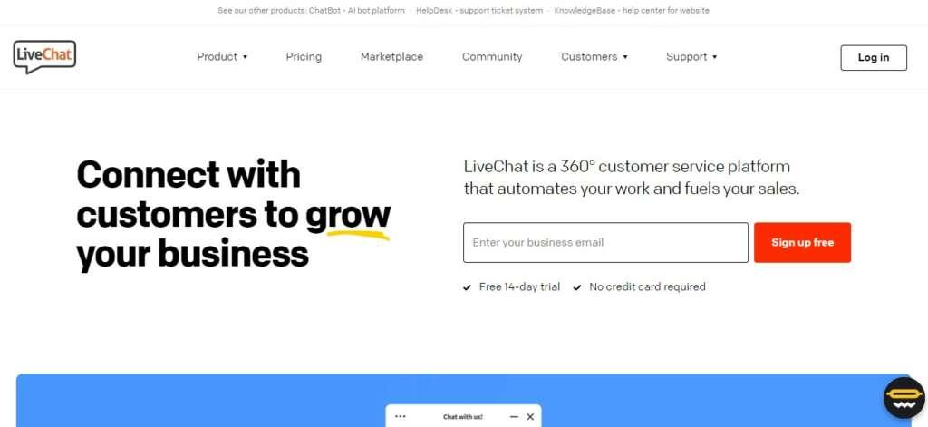 LiveChat - Top Affiliate Program