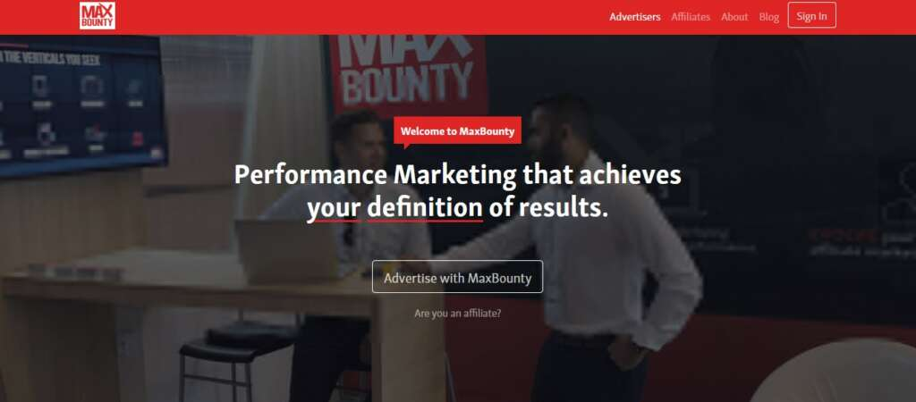 MaxBounty - Best affiliate Program to earn money
