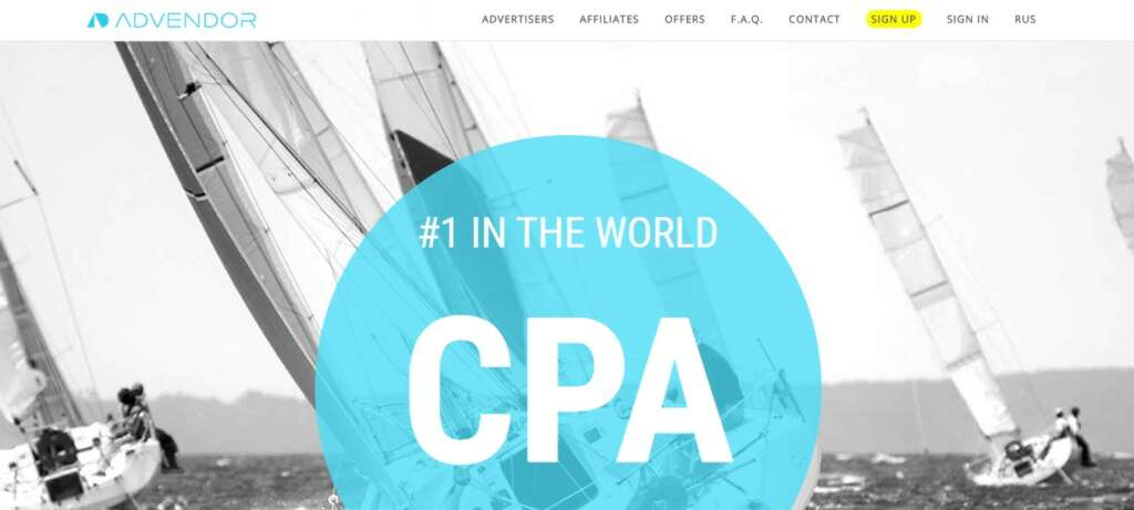 Advendor - Best CPA Network for Beginners