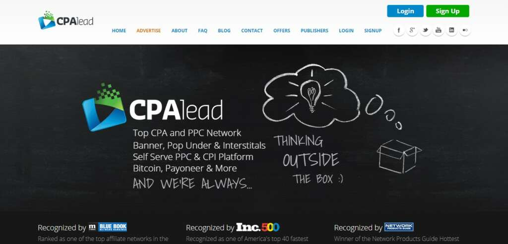 CPALead - Leading Affiliate Network