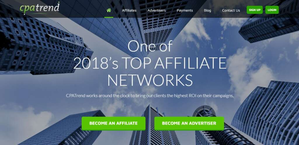 CPATrend - Profitable CPA Network
