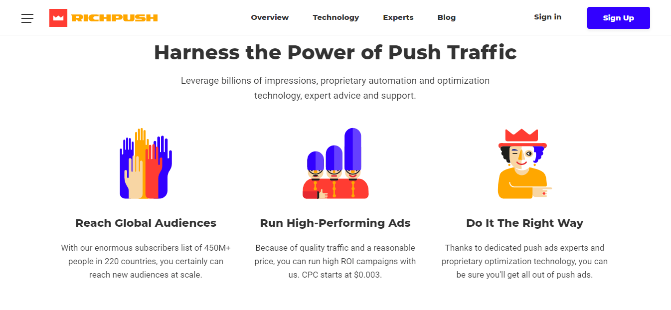 RichPush For Advertisers