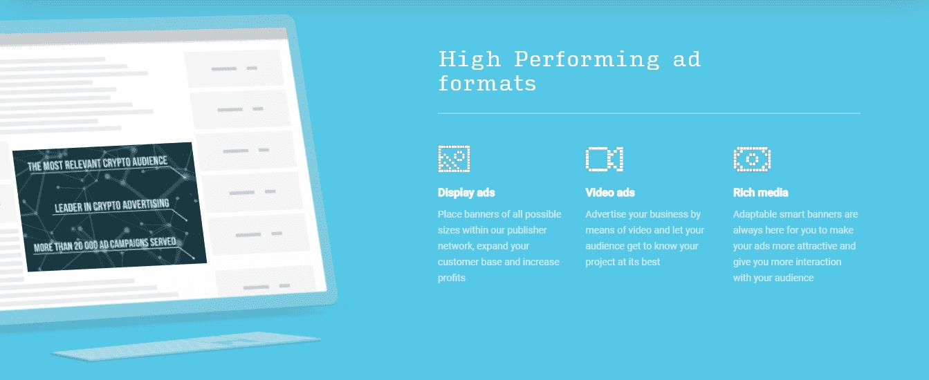 Bitmedia Ad formats
