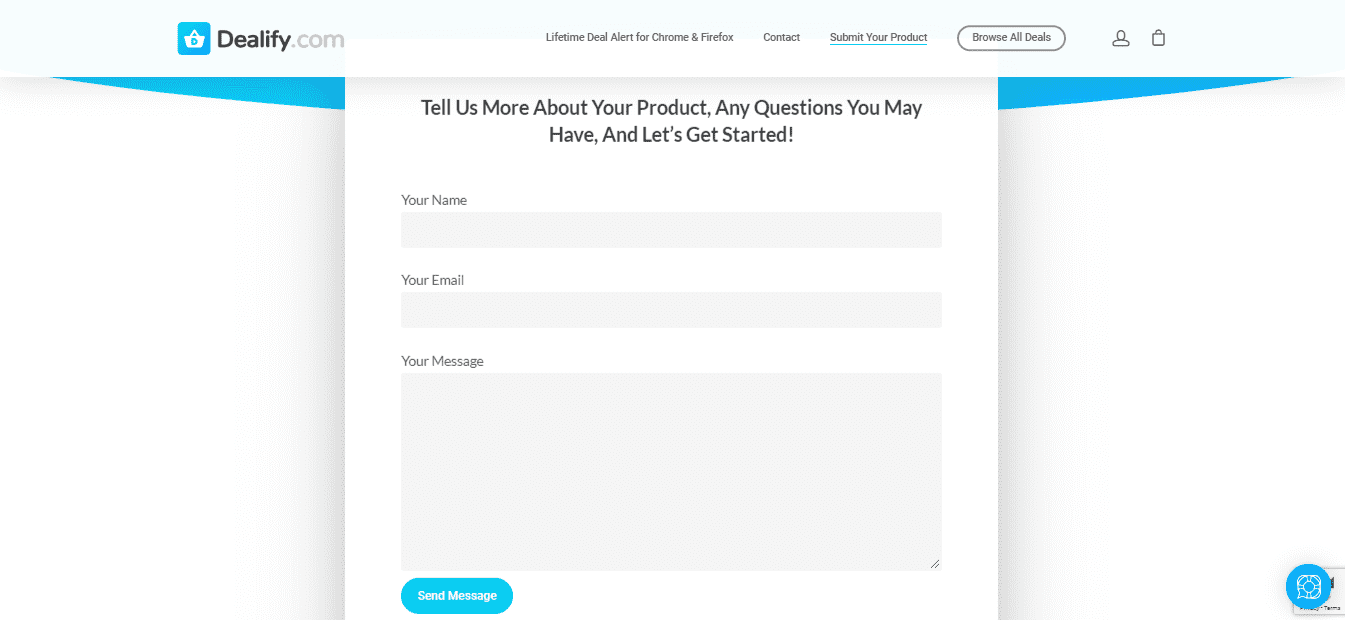 How to submit your product on Dealify