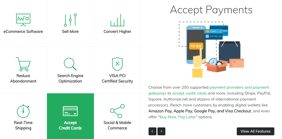 3dcart payment gateways