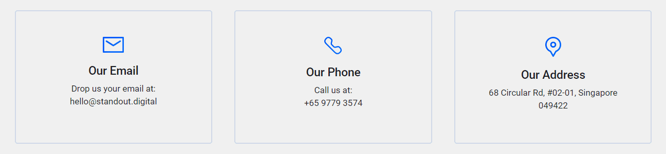 Standout Digital Support