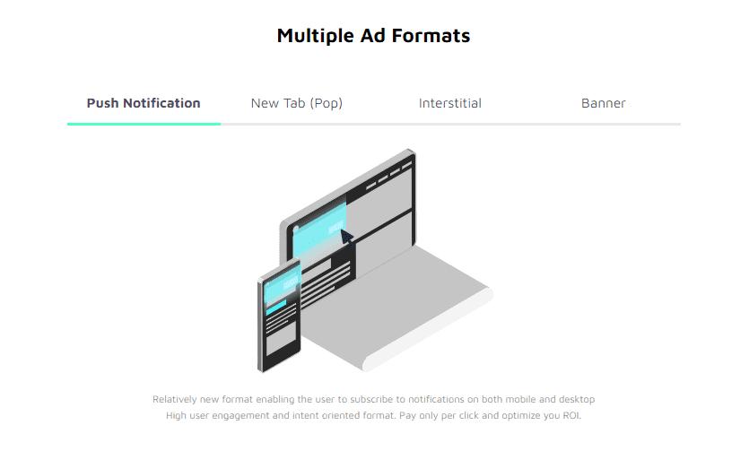AdMaven Ad Formats