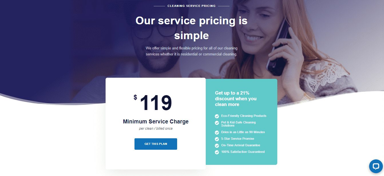 Bluegrass Cleaning Pricing