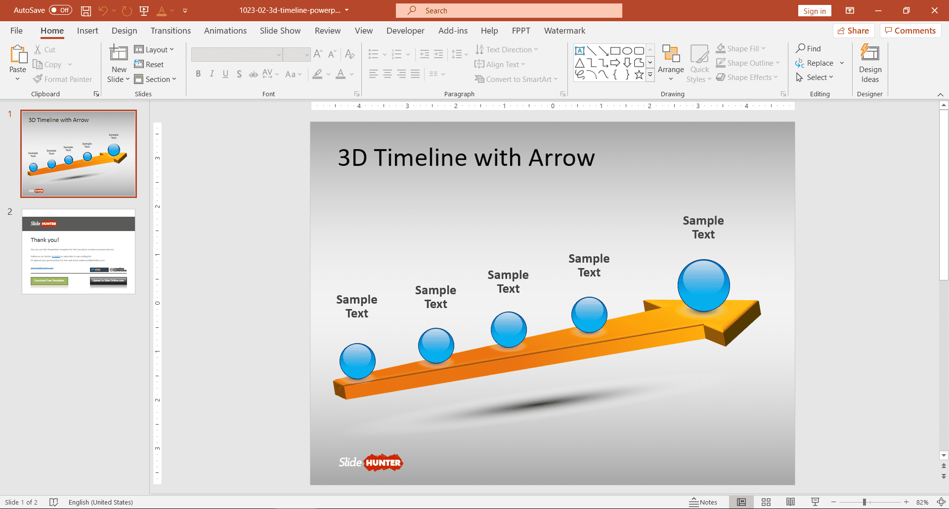 Free 3D PowerPoint Templates