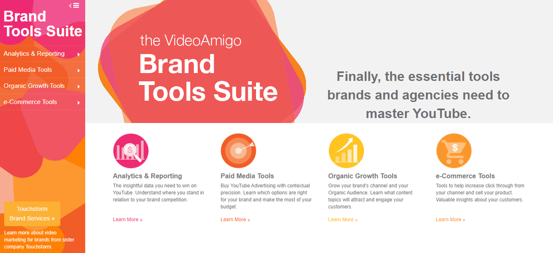 VideoAmigo Brand Tools