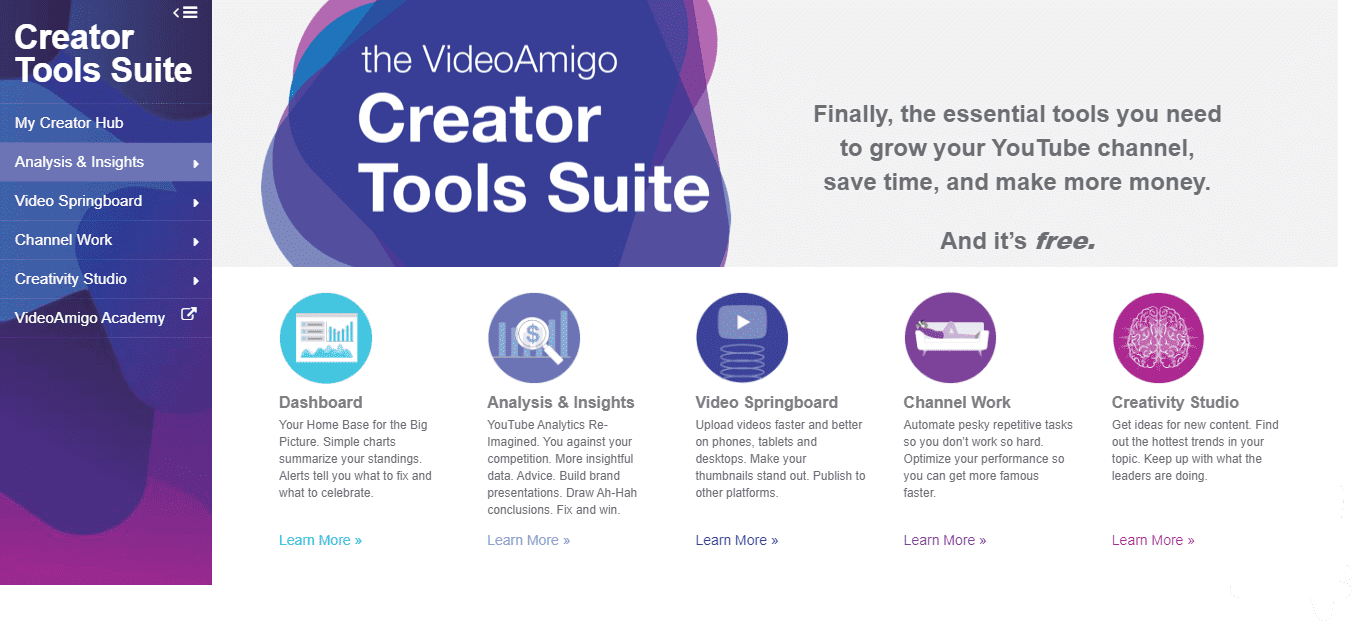 YouTube Creator Tools