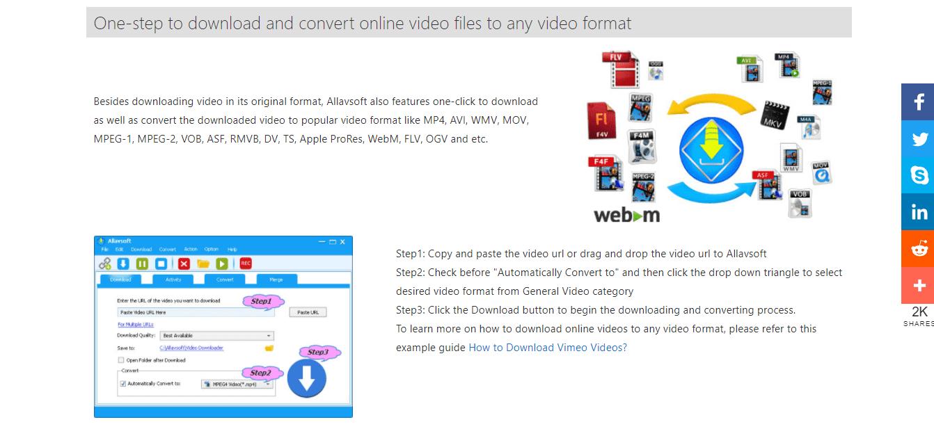 Allavsoft Video Downloader and converter