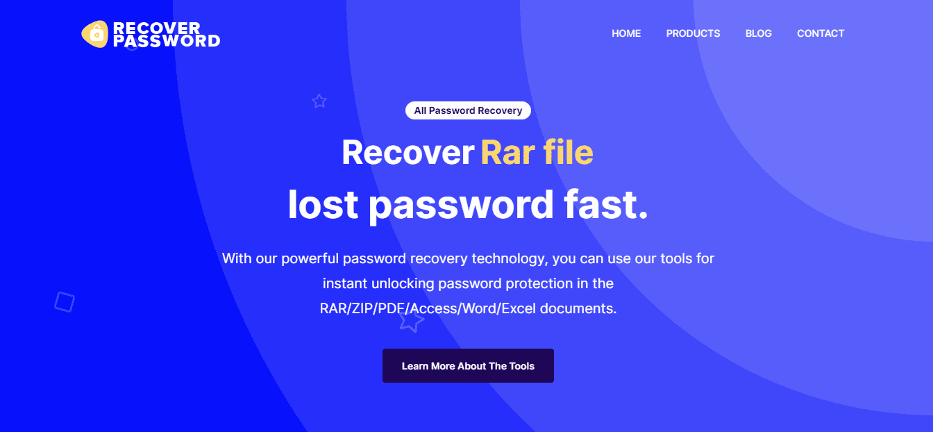 How to recover password protected files