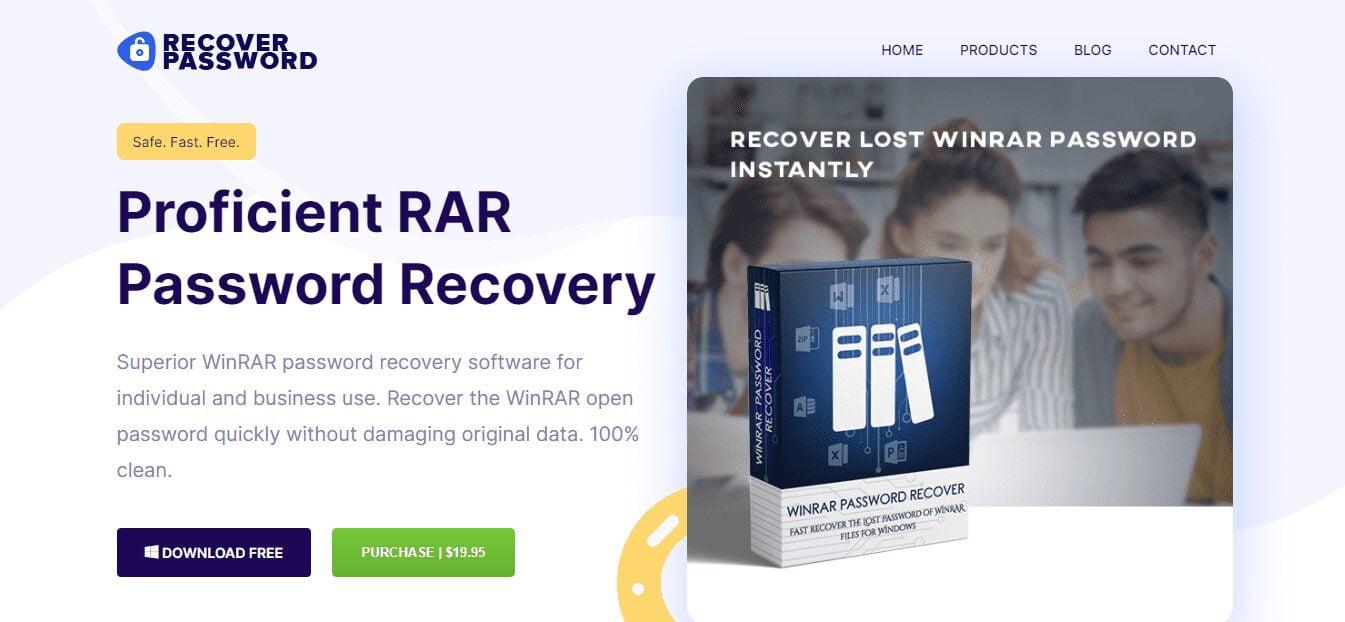 RAR password recovery