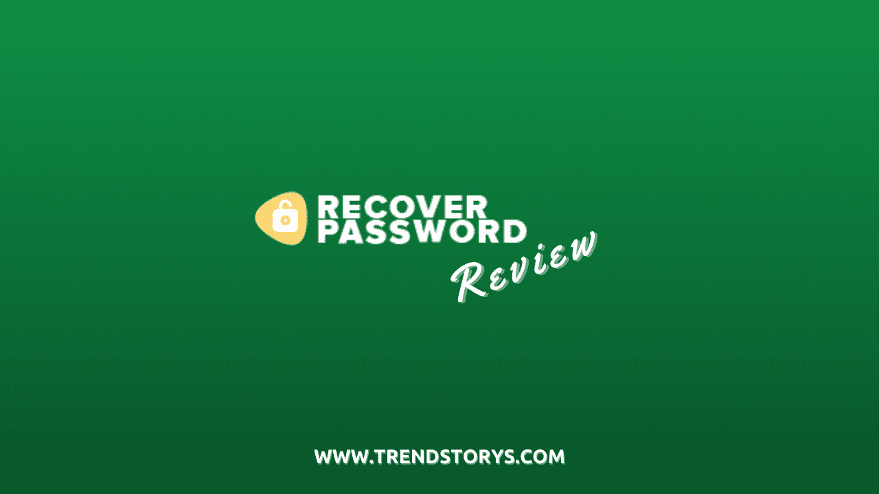 Recover Password review
