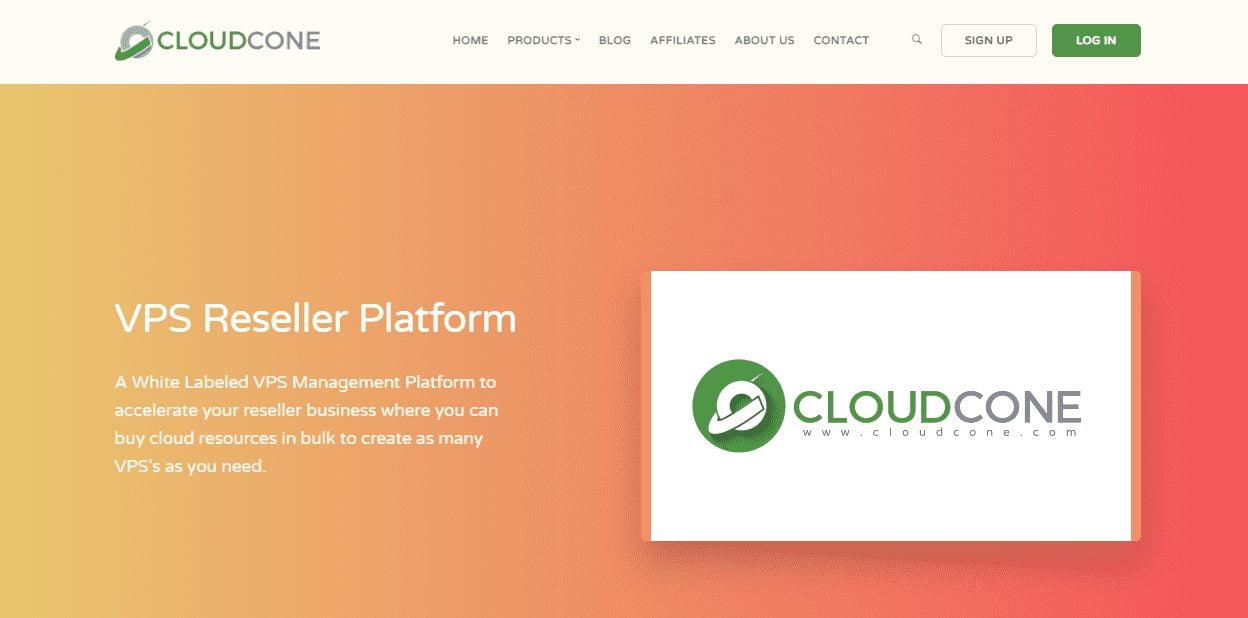 cloudcone vps reseller platform