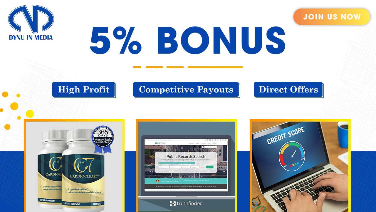 Dynu In Media Bonus Campaigns