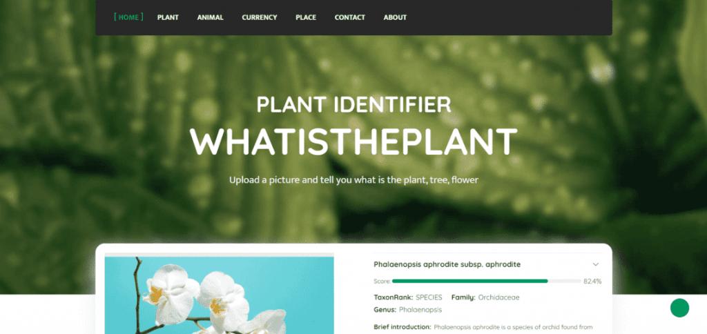 AI Plant Identifier