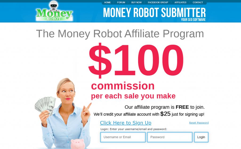 Money Robot Affiliate Program