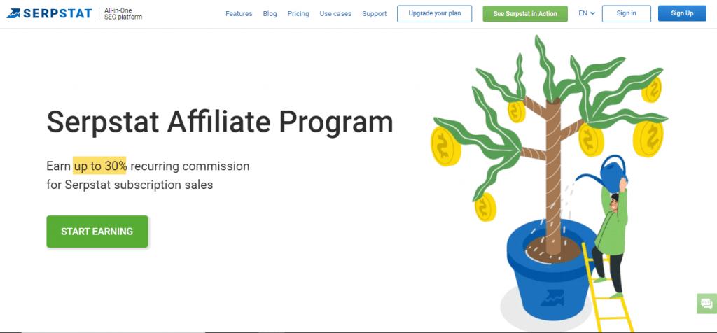 Serpstat Affiliate Program