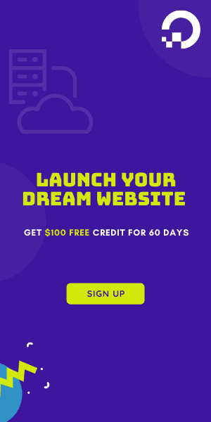 Digital Ocean Banner Ad